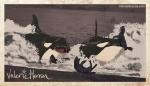 Plate 1: Orcas Hunting. Valerie Herron, 2014
